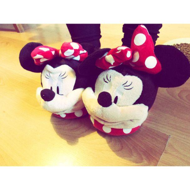 slippers house shoes minnie mouse