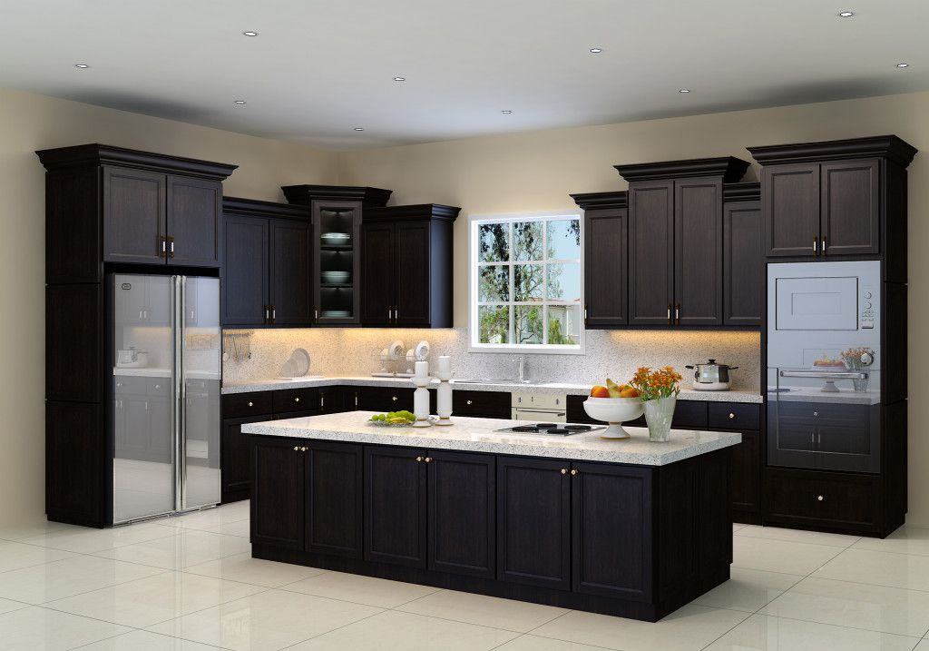Kitchen Cabinet Door Styles In 2019 Espresso Kitchen