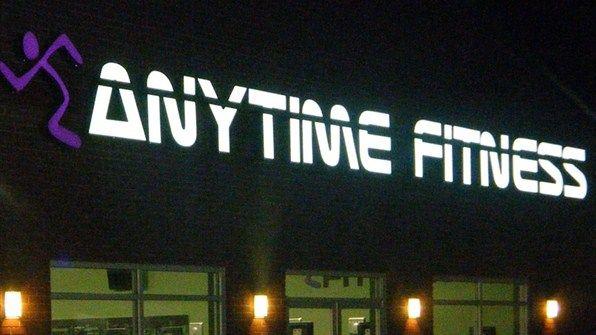 Anytime Fitness Running Man