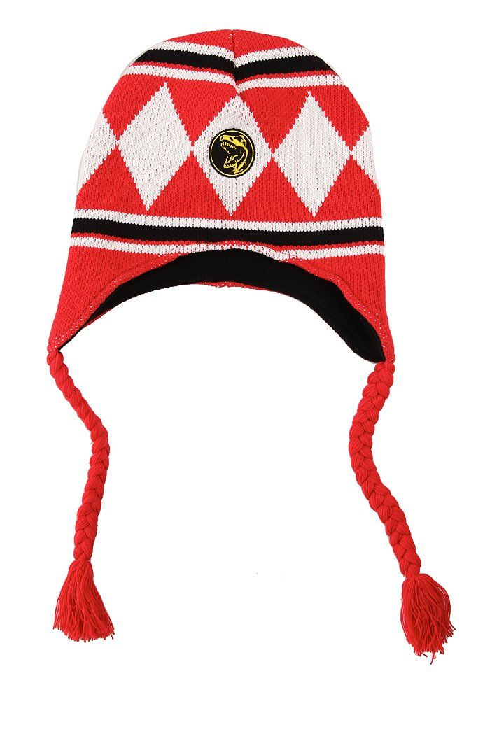 024fdead719 Mighty Morphin Power Rangers Red Ranger Peruvian Beanie