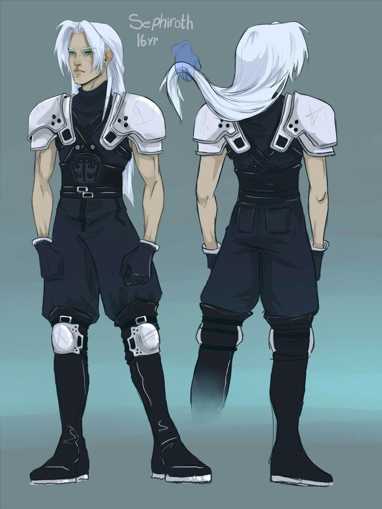 Young Sephiroth Final fantasy sephiroth, Final fantasy