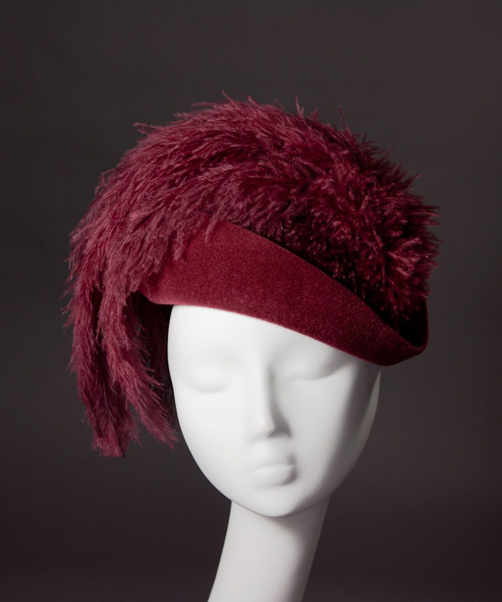 House of nines design how to wear a small hat fancy