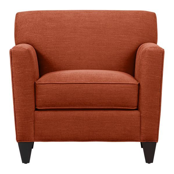 New Chair From Crate Amp Barrel Super Comfortable And It S