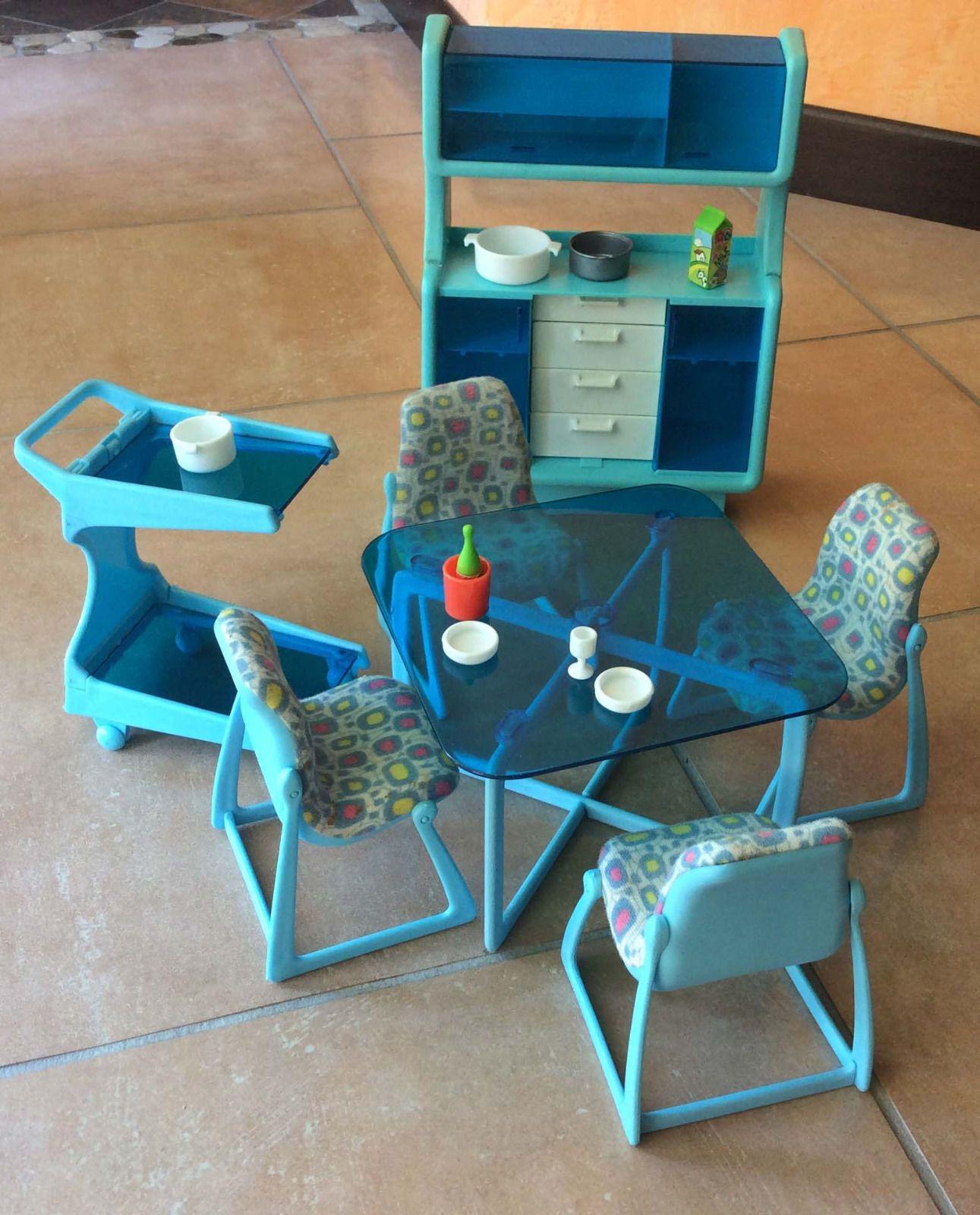 Barbie Dining Room Set: Barbie Dining Room