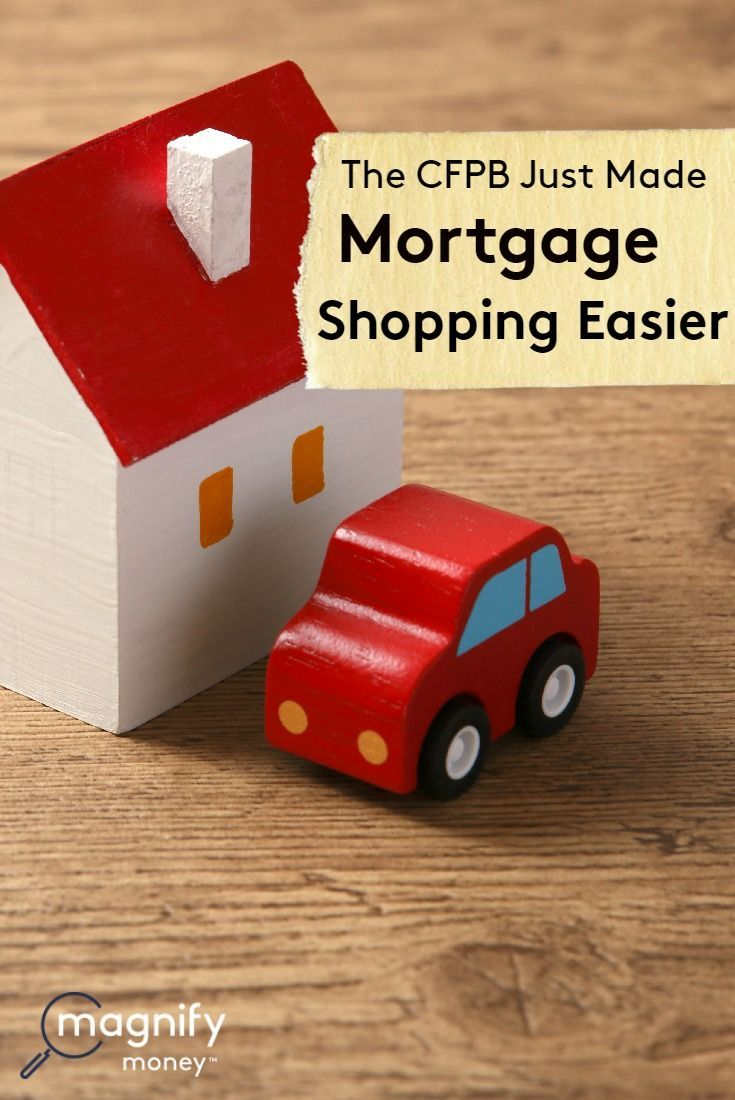 The Cfpb Just Made Shopping For A Mortgage Easier Con Imagenes Juguetes De Madera De Madera