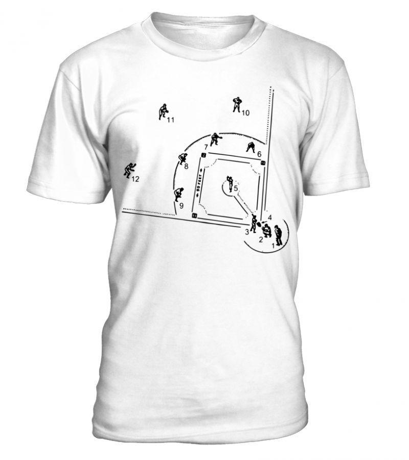 brand new 5e706 fc319 Rangers baseball t shirt baseball diagram men premium shirt ...
