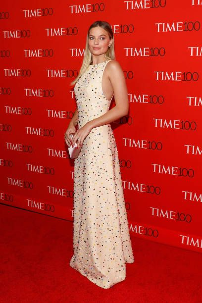 Margot Robbie attends the 2017 Time 100 Gala at Jazz at Lincoln Center on April 25 2017 in New York City
