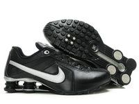 new style d8fbd 3dc20 chaussures nike shox r4 homme (noir blanc argent) pas cher en ligne