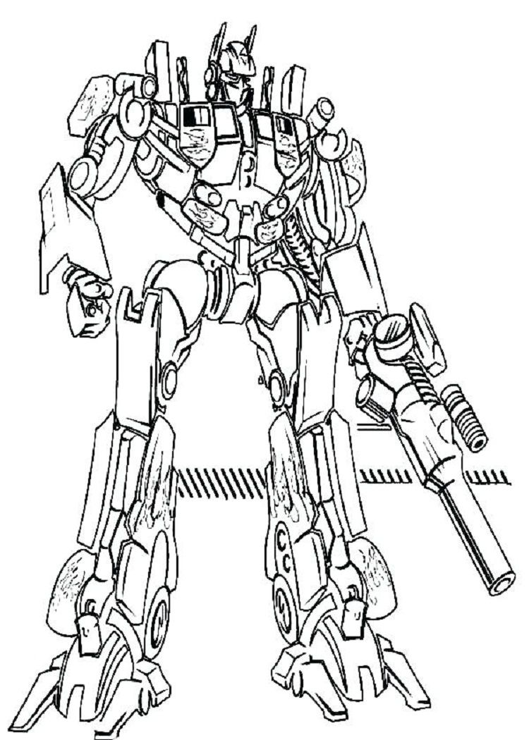 Transformers Coloring Pages Sentinel Prime Transformers Coloring