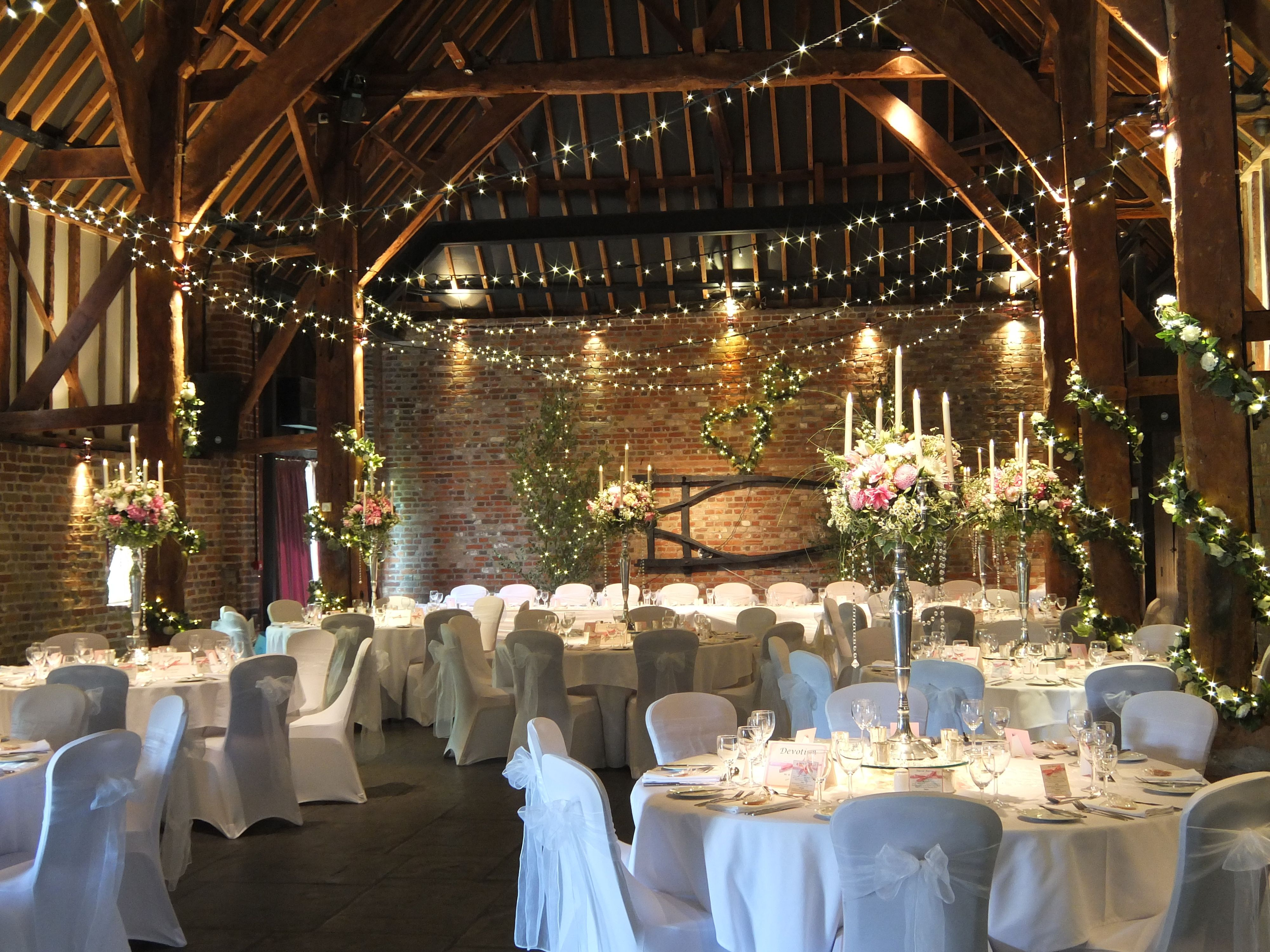 wedding venue decoration ideas the tithe barn wedding venue in kent a can 1206