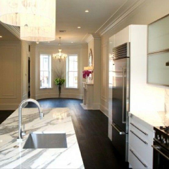 stunning, feminine kitchen