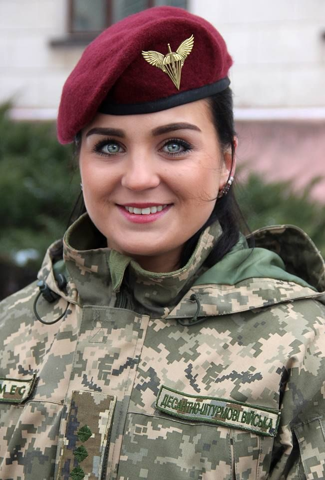 Ukrmilitary English On  Military Women, Female Soldier -1217