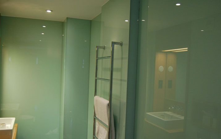 shower panels instead of tiles - Google Search | Glass ...