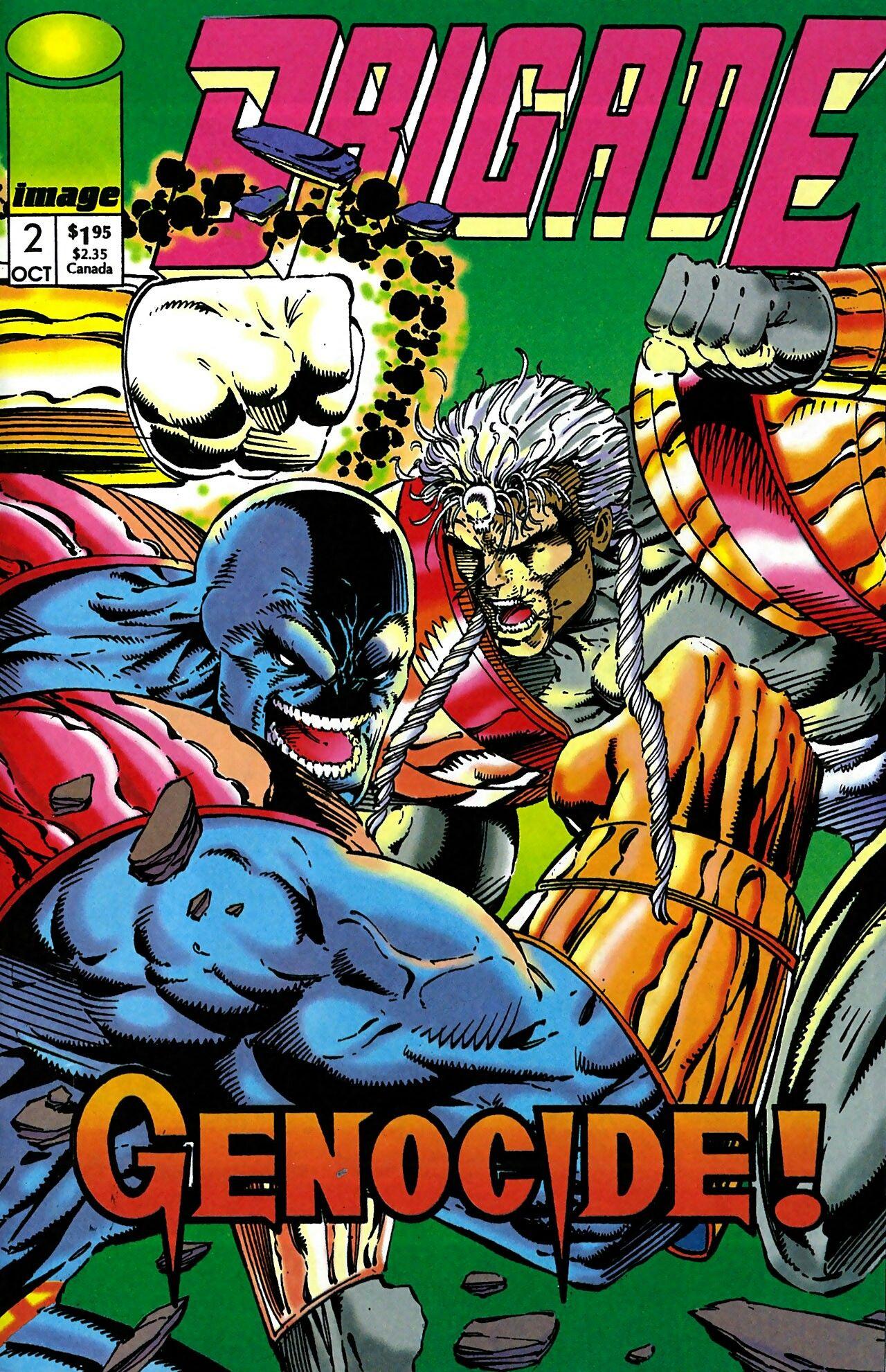 Brigade Image Comics Graphic Novel Cover Comics