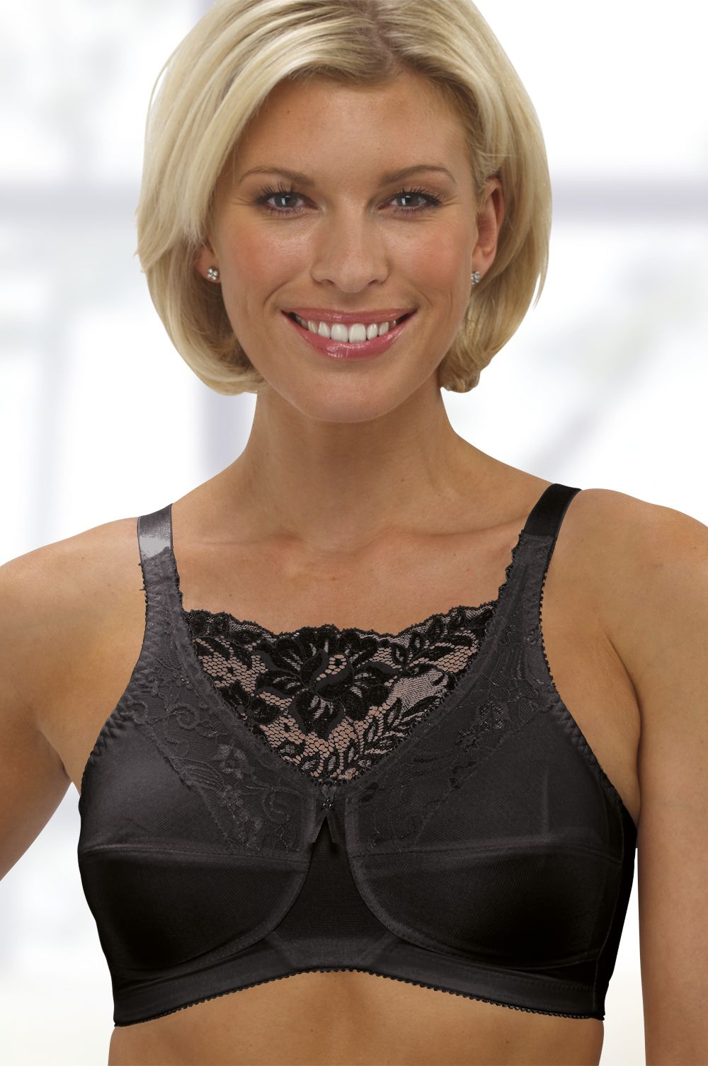 b5a9dcc67f78f Jessica Non-Padded Camisole Mastectomy Bra (4019) by Trulife