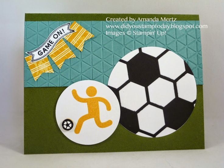 Simply Sports Stampin Up Sitepinterest Did You Stamp Today