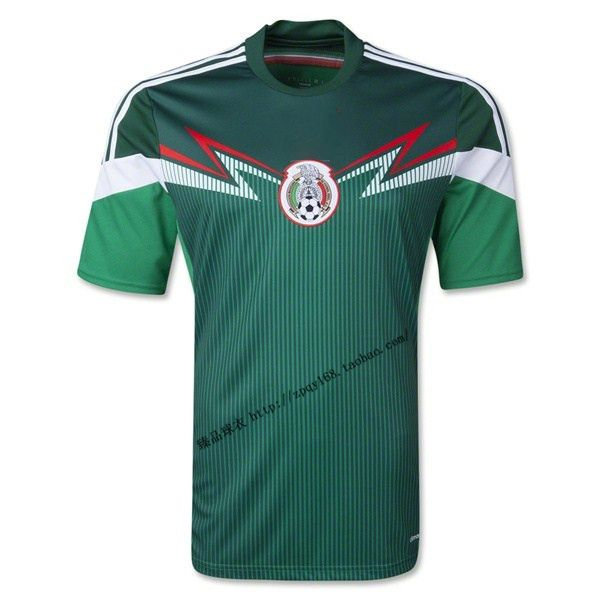2014 Brazil World Cup Mexico soccer team jersey dress suit