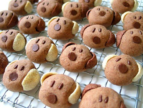 Dog Cookies Or Bread Either Way Cute Cute Food Food