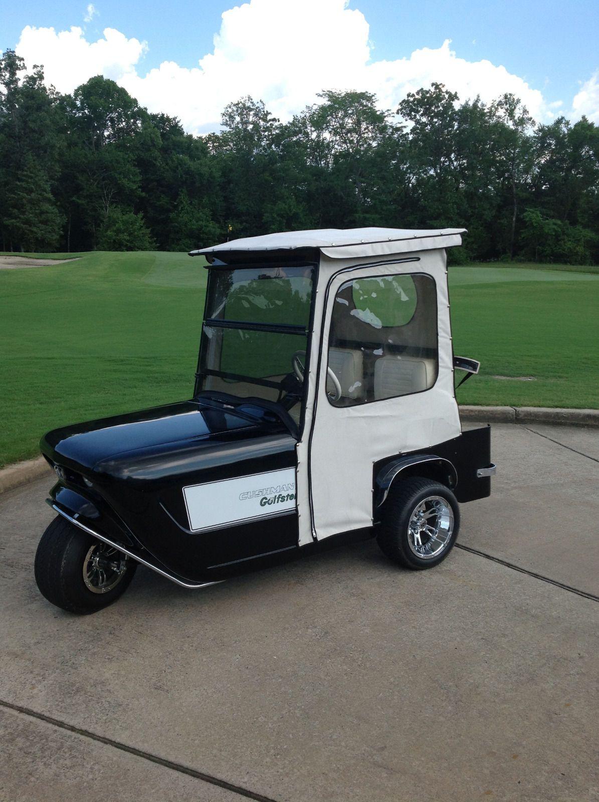 1963 Cushman Golf Cart Golfster eBay Custom golf carts