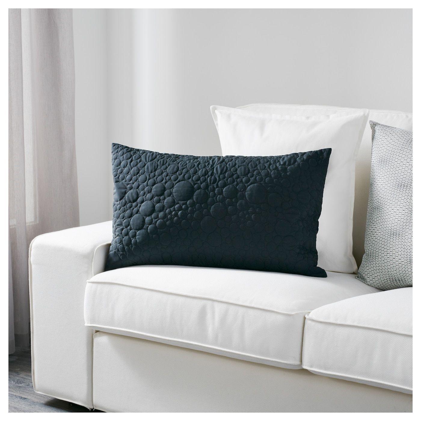 Schwarzes Sofa Kissen