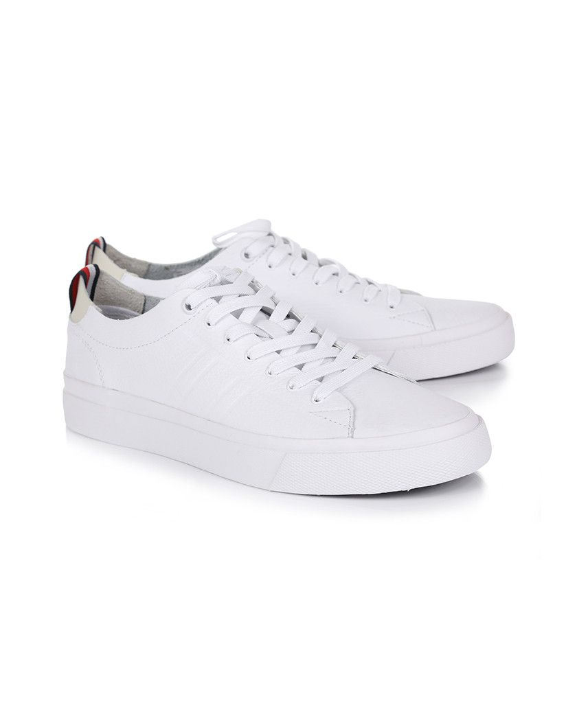 8c0f3618a Tommy Hilfiger Men s Embossed Leather Trainers - Add some style to your  everyday with the Men s Embossed Leather Trainers by Tommy Hilfiger.