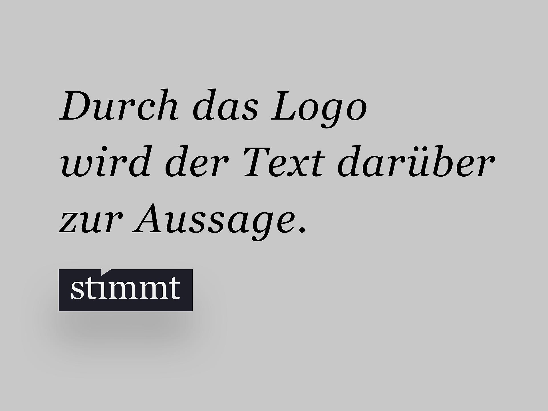 Stimmt – Digital Branding