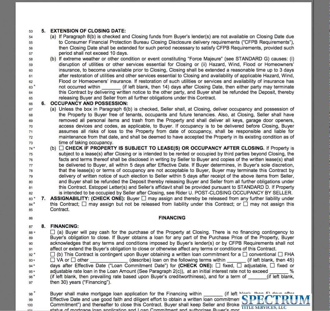 Florida Far Bar Real Estate Contract Training 2015/16 | Real ...