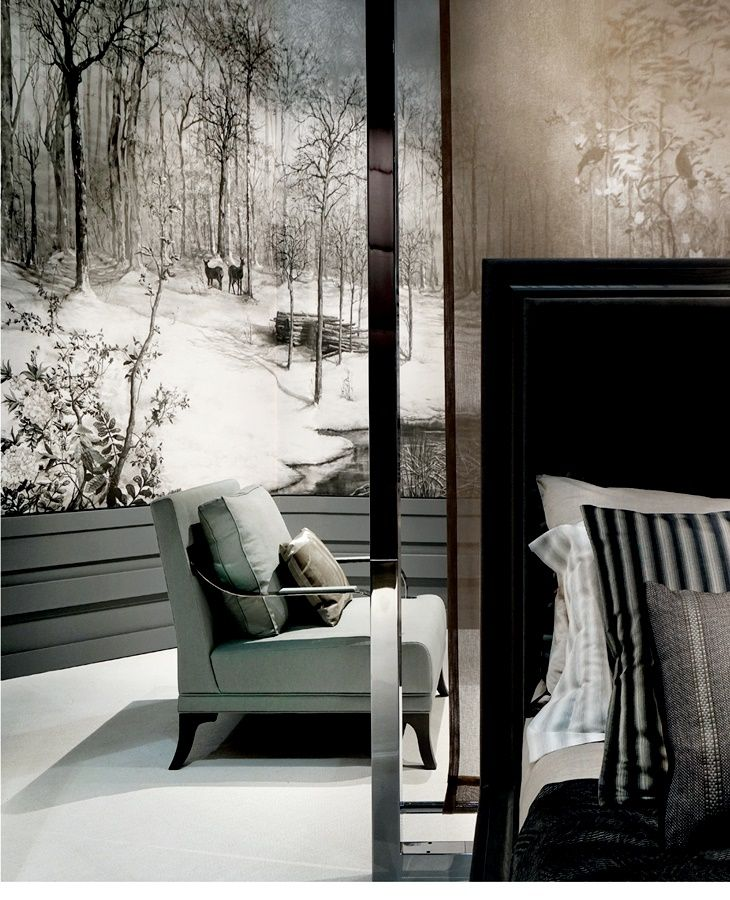 Paris Déco Off 2018 #interiordesign #wallpaper #bedroom