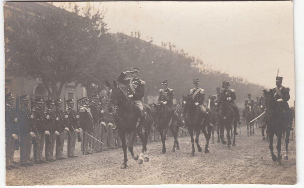 1918 WWI  PARATA MILITARE FOT. LUSVARDI E FIGLIO MODENA -F29