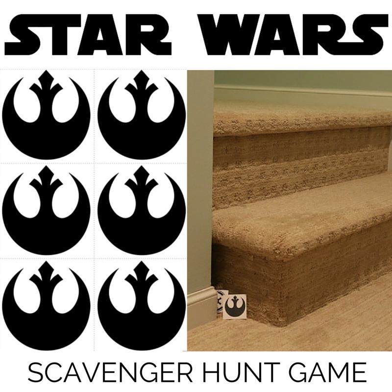 TUTORIAL: Star Wars Scavenger Hunt Game
