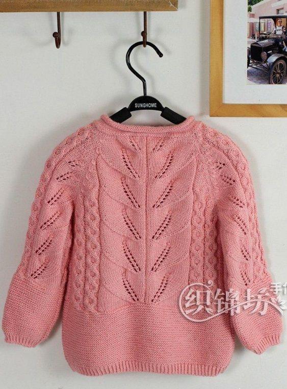 Вязание детской кофты спицами | вязание | Pinterest | Suéteres para ...