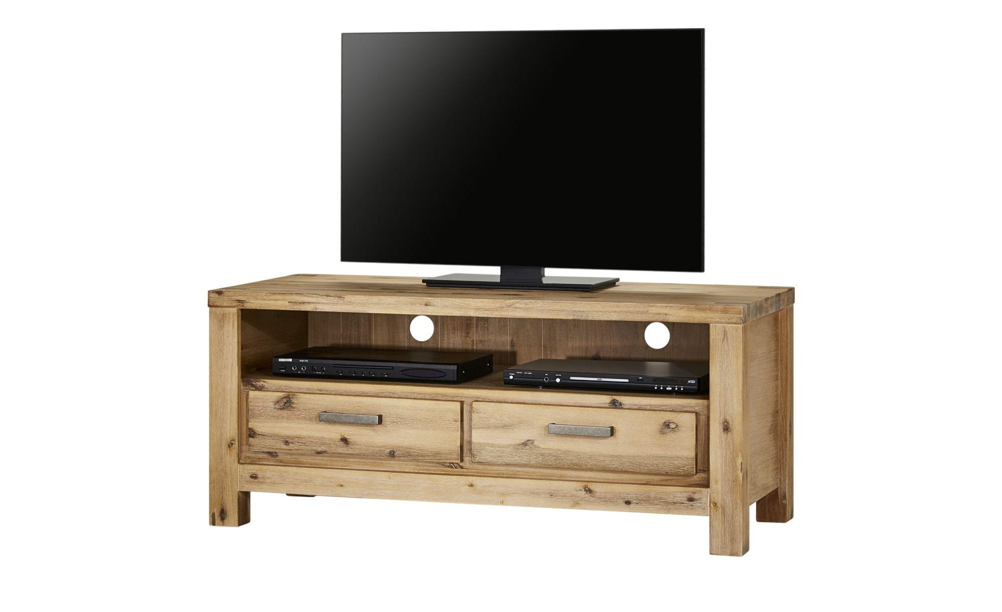 Tv Unterschrank Borneo Holzfarben Masse Cm B 120 H 52 T