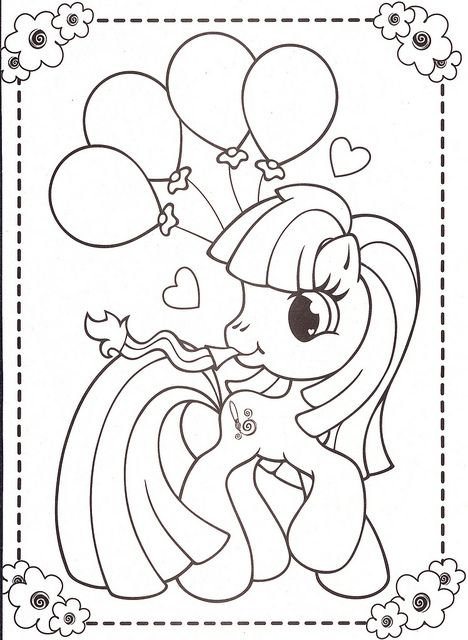 my little pony coloring pages 45 Pony Pony party and Birthdays