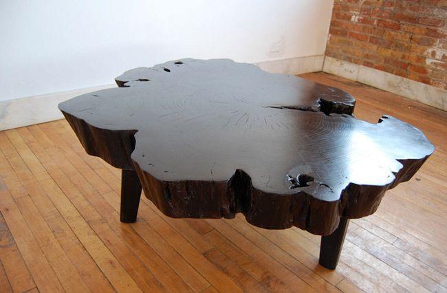 Tree Slab Coffee Table By Jason Lewis Furniture