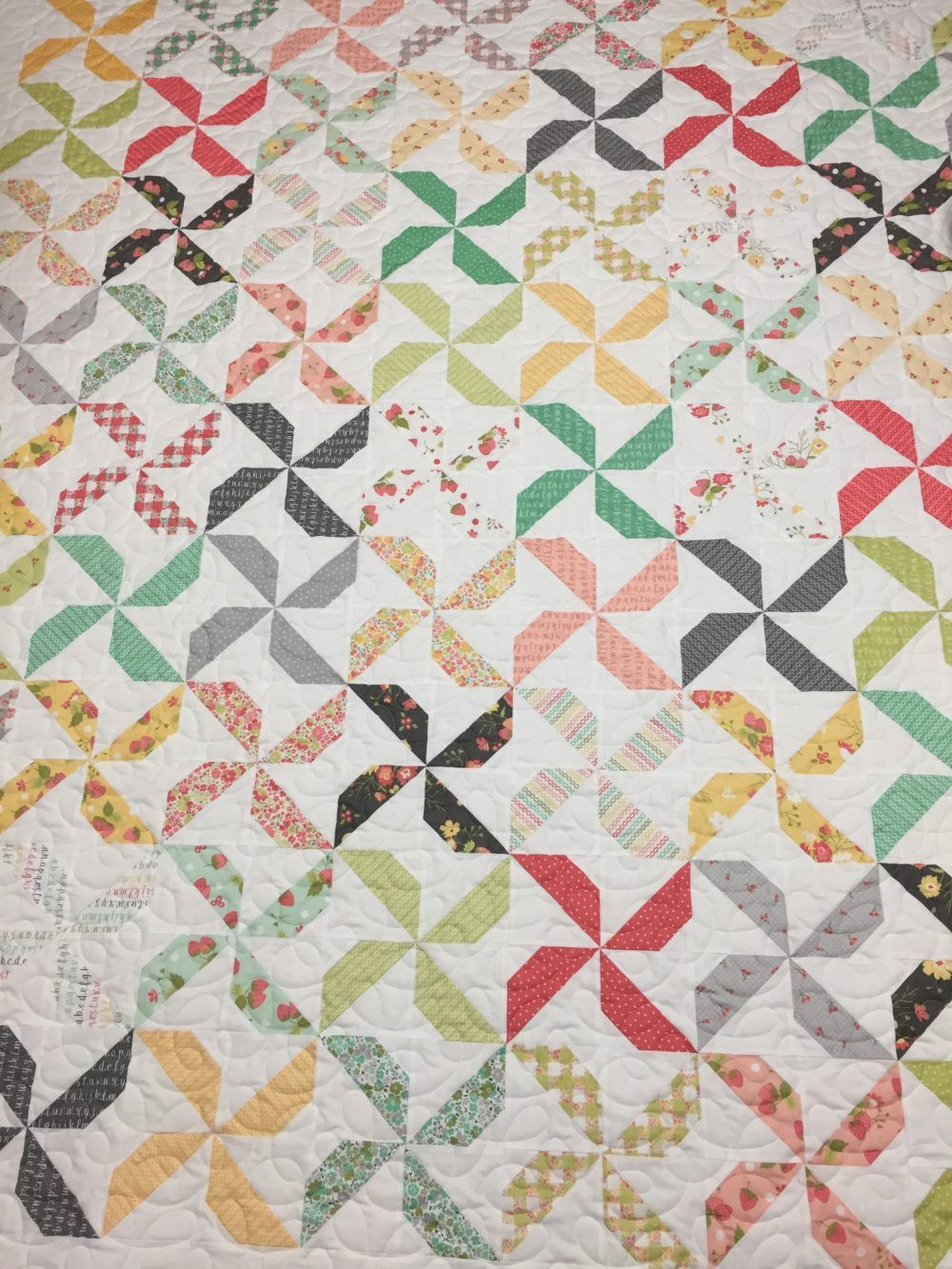Going Dutch Quilt « Moda Bake Shop   Quilts, Colorful quilts, Half square  triangle quilts