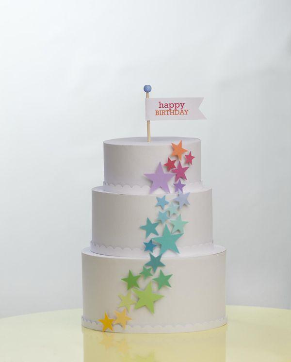 Paper Birthday Cake Silhouette Birthday Pinterest Birthday