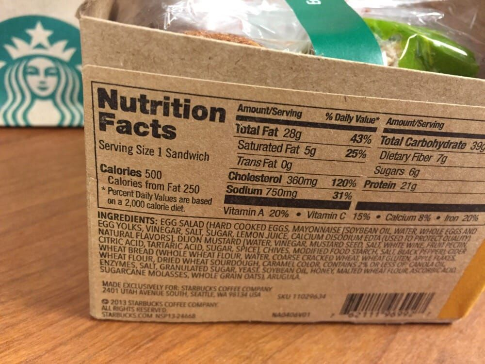 Egg Salad Nutrition Facts - Yelp #eggnutritionfacts