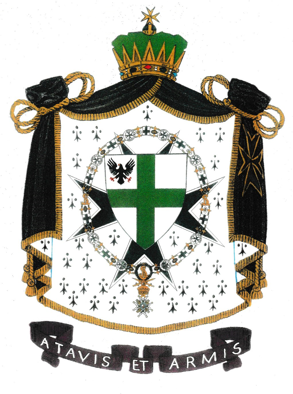 The Great Arms of the Grand Priory of America  | Saint
