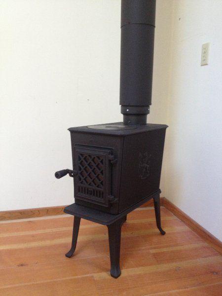 Jotul F602 Heating Wood Stove Installation Stove