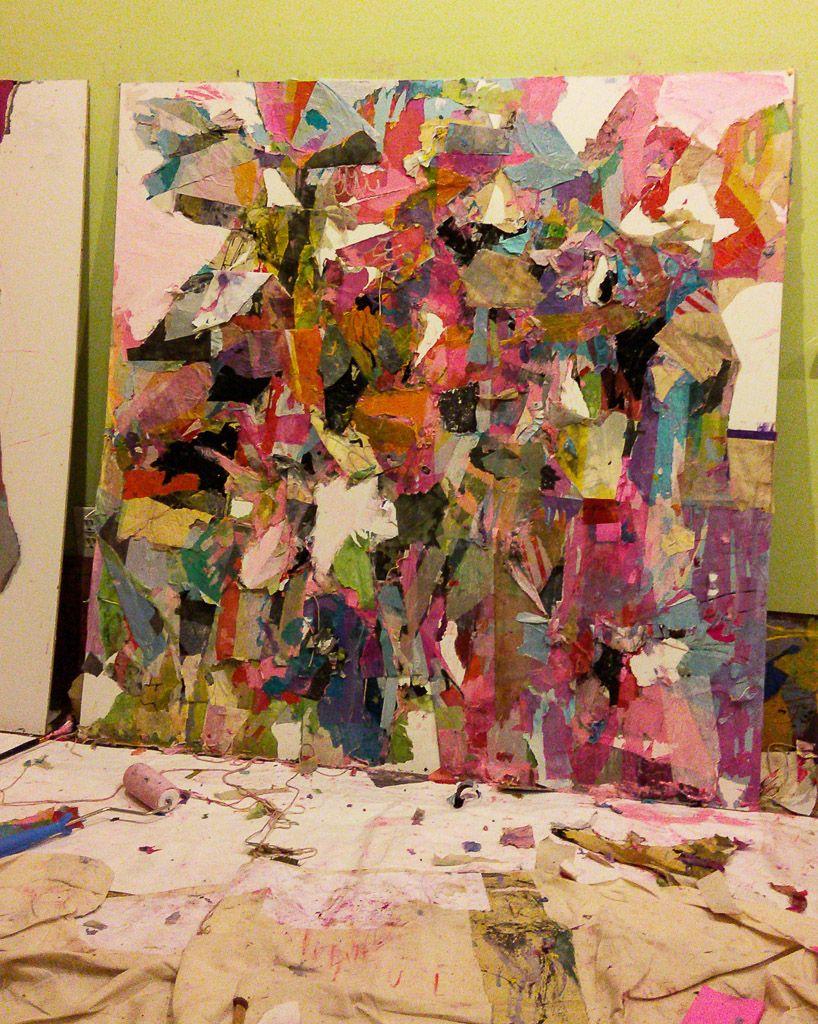 Abstract Painting MFA BFA Artist California Utah Park City Los - Los angeles to utah map