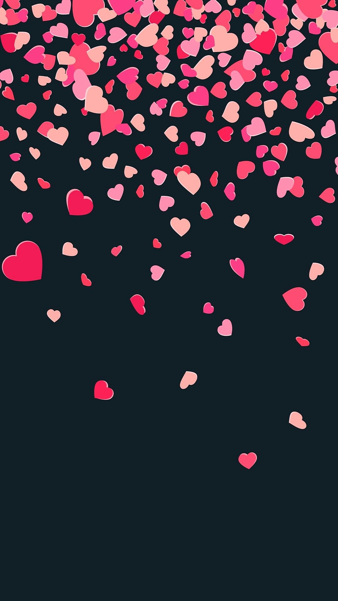 Tons Of Hearts Love Mobile Full Hd Wallpapers 1080x1920 Full Hd Wallpaper Wallpaper Hd Wallpaper Heart wallpaper hd 1080p free download