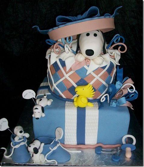 Cute Snoopy Cake Snoopy Snoopy Cake And Cake