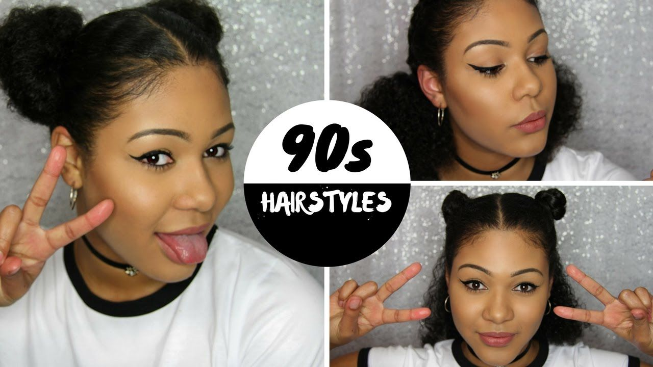 90s inspired hairstyles (for curly hair!) | sadie j