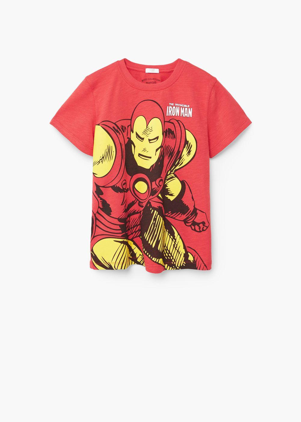 T-shirt algodão marvel | MANGO KIDS