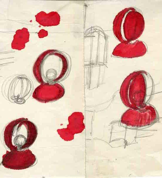 Parigi la mostra 39 vico magistretti lo studio del genio for Imitazioni lampade design