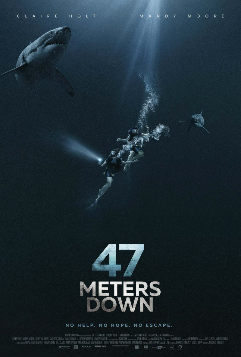 47 METRES DOWN is in UK/ROI cinemas July 26th. Read our