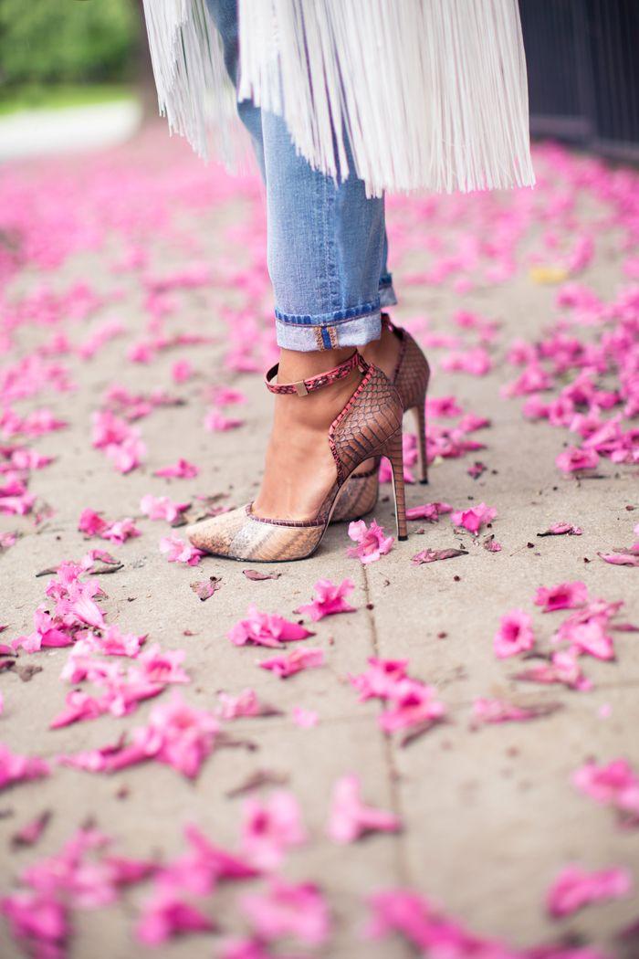 petals on the floor
