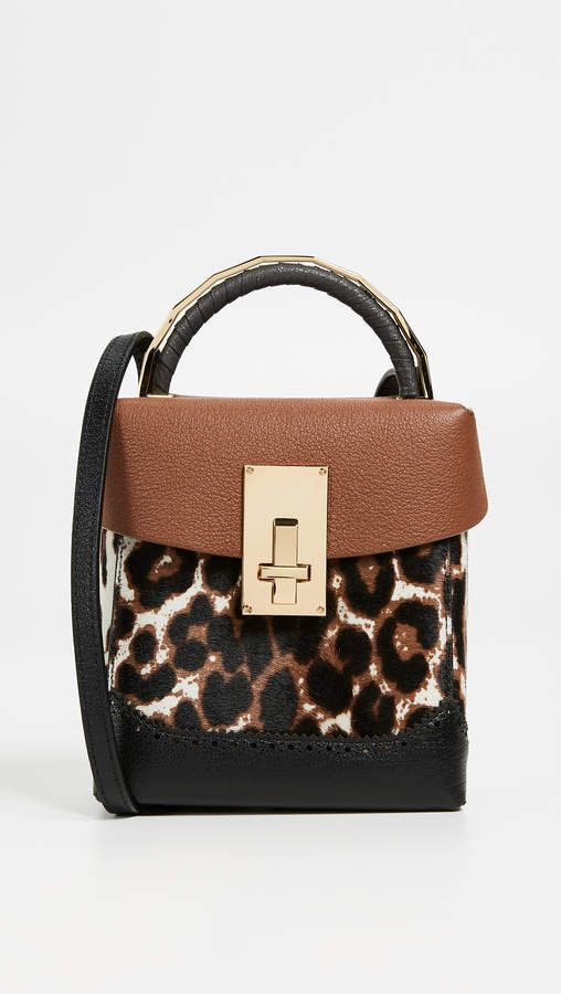 a7d26505eedc THE VOLON Great Alice Leopard Box Bag