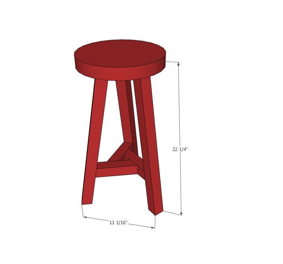 Magnificent Vintage Style Three Legged Stool Workshop Diy Stool Beatyapartments Chair Design Images Beatyapartmentscom