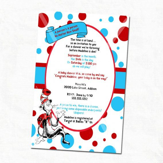 Baby Shower Dr Seuss Baby Shower Invitations Printable Free To Help